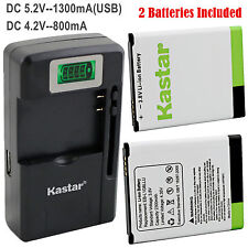 Kastar Battery Charger for Samsung Galaxy S3 S III I9300 GT-I9300 I9305