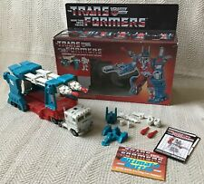 TRANSFORMERS G1 AUTOBOTS ULTRA MAGNUS BOXED + INSTRUCTIONS 100% COMPLETE
