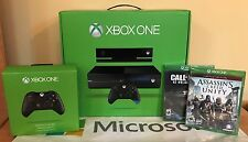 Xbox One with Kinect (500GB) + 2 Games + 1 Extra Wireless Controller (Bundle)