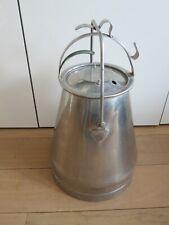 More details for large vintage milk churn marked: manus type v norrköping sweden vgc polished
