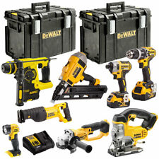 DeWalt DCKT4T8AP2 18V Li-ion 8 Piece KIT with 2 x 5.0Ah Batteries Charger & Case