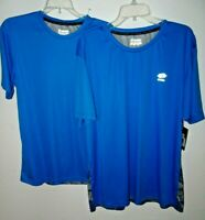 NEW LOTTO TRAINING MENS ATHLETIC SHIRT S 2XL BLUE