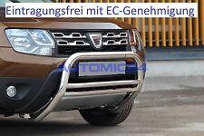 Frontbügel Bullenfänger Frontschutzbügel Rammschutz Dacia Duster Zulassung