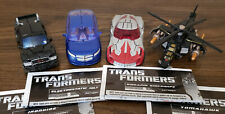 Transformers Hunt for the Decepticons Deluxe Class Autobots Lot of 4! Complete!