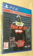 Friday The 13th Game Ultimate Slasher Edition Playstation 4 PS4 NEW SEALED