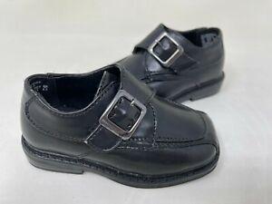 NEW! TKS Toddler Boy's Cody Stylish Comfort Dress Shoes Black #50025 131O r