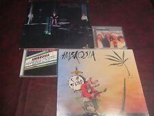 AMBROSIA LIFE BEYOND LA & ROAD ISLAND ORIGINAL WARNER BROTHER Analog  LPS + CD'S