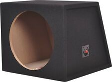 "Metra - 12"" Single Sealed Subwoofer Enclosure - Charcoal"