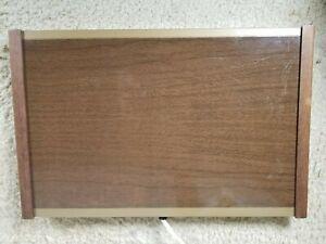 Warm O Tray #60 Brown Wood Grain Electric Warming Tray Atlantic Precision