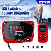 Pour Air Diesel Chauffage 12V / 24V LCD Moniteur Interrupteur + Télécommande