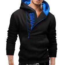 Men's Winter Slim Hoodie Warm Hooded Sweatshirt Coat Jacket Outwear Sweater Tops