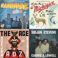SUFJAN STEVENS - CLASSIQUE VINYLE LP Pack - 4 x Vinyle LP 'S NEUF et scellé
