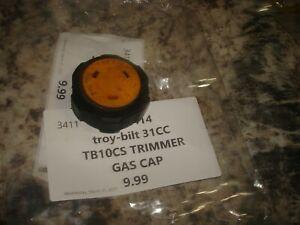 Troybilt tb10cs 31cc gas cap trimmer part only bin 414
