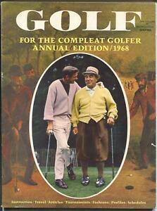 Golf Annual 2/1968-tournaments-instruction-Arnold Palmer-Ken Venturi-Kirkbell-FN