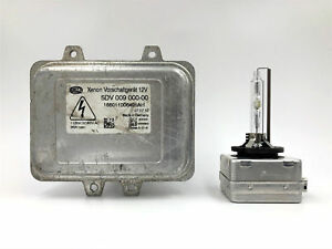 OEM 07-13 Cadillac Escalade Xenon HID Headlight Ballast and D1S Bulb Kit