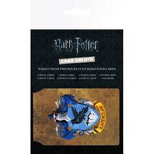 Producto con licencia oficial Ravenclaw Harry Potter portatarjetas de viaje de ostra Nuevo
