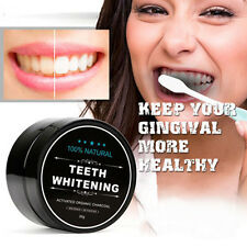 Activated Charcoal Teeth Whitening Organic Coconut Shell Powder Carbon Coco