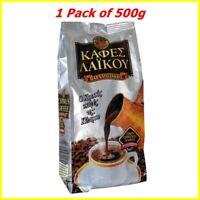 Tradizionale Cipro Greco Laikou Caffè Macinato - 1 Argento Confezione Di 500g