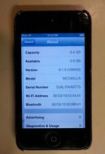 Apple iPod Touch 4th Generation 8Gb Player - Black