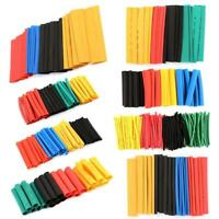 328Pcs  8 Size 2:1 Heat Shrink Tubing Tube Sleeving Wrap Cable Wire Set Gift