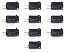"10 Pack of Cherry 75g .187"" D44X Microswitch For Arcade Joysticks & Push Buttons"