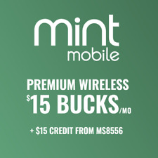 Mint Mobile New Customer Referral Link for $15 OFF / CREDIT - Read Description!