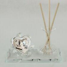 DLM25639 Profumatore in vetro per Laurea Trasparente (kit 6 pezzi) bomboniera