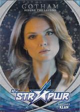 Cryptozoic Gotham Season 2 STR PWR Character Bios Silver #09 Barbara Kean