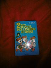 2 ème Manuel des Castors Juniors - Hachette 1975 Walt Disney
