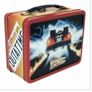 BACK TO THE FUTURE - Classic Large Tin Tote / Metal Lunch Box