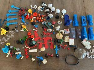 Vintage 1977 Mego Micronauts Biotron & Mattel Battle Star Galactica Parts Lot