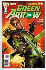 GREEN ARROW #1 9.4 NEW 52 1ST PRINT 2011 HIGH GRADE WHITE PAGES MODERN AGE