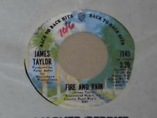"James Taylor-Fire and Rain - 7"" 45"