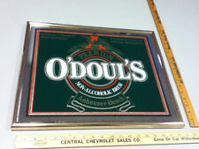 O'Doul's Budweiser N/A beer sign bar signs 1 mirror Anheuser-Busch brewery WT9
