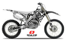 2009 2010 2011 2012 Honda CRF 450R GRAPHICS KIT CRF450R 450 R DECO Skull DECALS