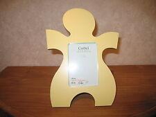 CORBEL *NEW* Cadre porte-photo bois jaune LxH photo=9x13cm LxH ext=20x28cm