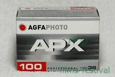 5 rolls AGFA APX 100 B&W 35mm 36exp Film Black and White 135 FREESHIP