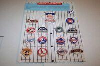 Vintage Catalog #876 - NATIONAL LEAGUE baseball magnets catalog