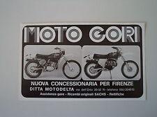 advertising Pubblicità 1976 MOTO GORI