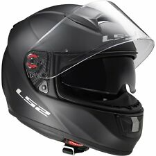 LS2 FF397 VECTOR FT2 FIBRE GLASS HELMET MATT BLACK LARGE, inc SUN VISOR RRP £169
