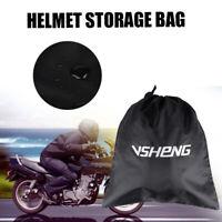 Oxford Lidlocker Weatherproof Lockable Motorcycle Helmet Bag Luggage OX624 Black