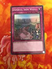 Yu-Gi-Oh Super Rare Imperial Iron Wall OP01-EN012 (LP)