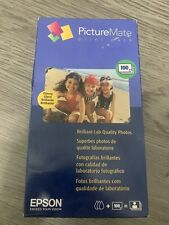 Genuine Epson PictureMate Print Pack T5570 Ink Cartridge 100 Sheets Photo Paper