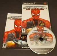 Spider-Man Web of Shadows Amazing Allies Edition (PlayStation 2, 2008) PS2 CIB