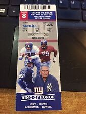 2016 NEW YORK GIANTS VS CHICAGO BEARS TICKET STUB 11/20 HUFF BROWN ROBUSTELLI