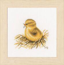 Little Chick - 4 (Aida)  :  Lanarte Counted Cross Stitch Kit - PN0165385