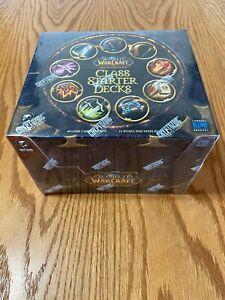 2010 factory sealed Class Starter Deck Set of ALL 10 World Warcraft WoW TCG
