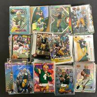 1991-2020 BRETT FAVRE Lot of 20 Football Cards No Duplicates