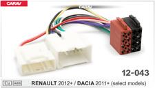 CARAV 12-043 Adaptador de Radio para Renault 2012 y Dacia 2011 - Blanco/Rojo