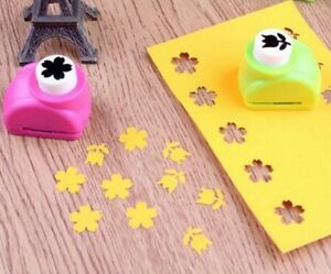 [XM] 6PCS Punch Card Craft Tool Mold Hand-held Scrapbooking Production Hole Mini